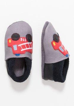 POLOLO - FEUERWEHR - Chaussons pour bébé - graphit nero