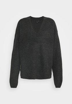YAS Tall - YASSELLIS ICON - Jumper - dark grey melange