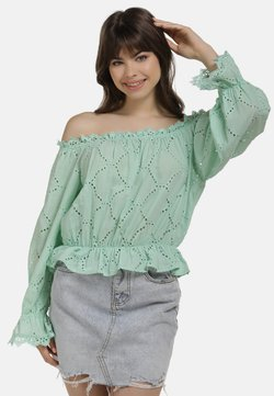 myMo - BLUSE - Bluse - green