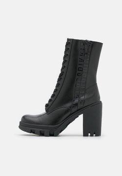 Bikkembergs - PORFYDIA - Lace-up ankle boots - black
