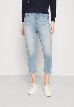 Marks & Spencer London - CROPPED - Jeans Skinny Fit - light blue denim