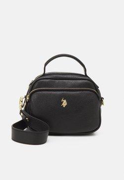 U.S. Polo Assn. - ARLINGTON CROSSBODY FRONT POCKET - Bolso de mano - black