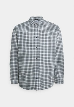 Only & Sons - ONSTONY CHECK PLUS SIZE - Hemd - cloud dancer