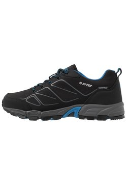 Hi-Tec - RIPPER LOW WP - Hikingschuh - black/lake blue