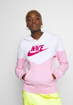 Nike Sportswear - Kapuzenpullover - pink rise/white/fire pink