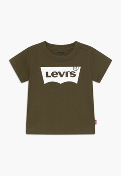 Levi's® - BATWING TEE - T-shirt print - olive night