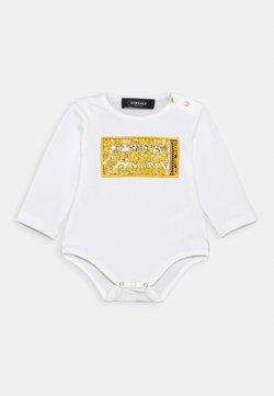 Versace - LONG SLEEVES SHOW LOGO UNISEX - Body - white/gold