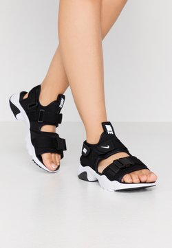 Nike Sportswear - CANYON  - Sandalias de senderismo - black/white