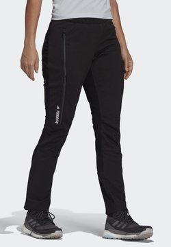 adidas Performance - ICESKY CLIMAWARM PANTS - Jogginghose - black