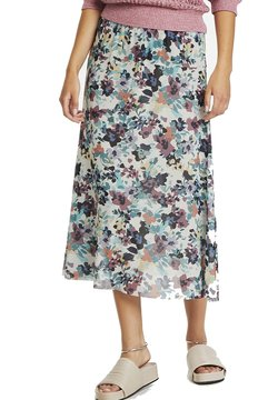 Soaked in Luxury - A-Linien-Rock - vivid floral print white