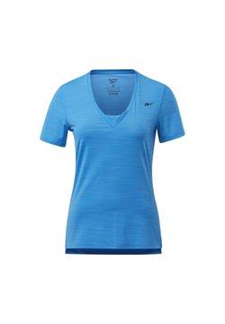 Reebok - ACTIVCHILL ATHLETIC T-SHIRT - Funktionsshirt - blue