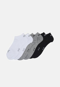 Puma - SNEAKER PLAIN 6 PACK UNISEX - Sportsocken - black/grey
