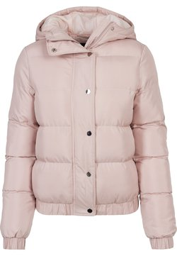 Urban Classics - LADIES HOODED PUFFER - Winterjacke - lightrose