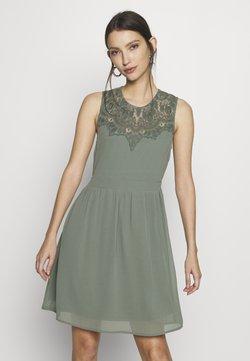 Vero Moda - VMYASMIN SHORT DRESS - Cocktailkleid/festliches Kleid - laurel wreath