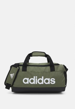 adidas Performance - LINEAR DUFFEL S UNISEX - Sporttasche - focus olive/black/white