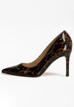Guess - DAFNE LACKOPTIK - Zapatos altos - animalier