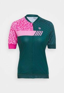 Ziener - NATJA LADY  - T-Shirt print - spruce green