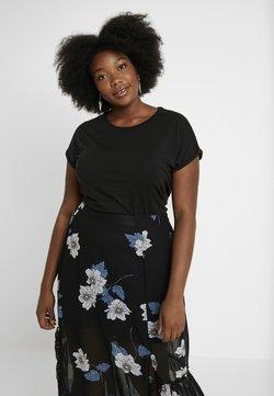 Vero Moda Curve - VMAVA PLAIN - T-Shirt basic - black