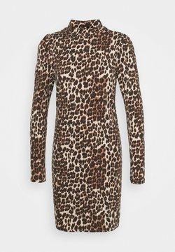 ONLY - ONLMAYA LIVE LOVE HIGH PUFF DRESS - Jerseykleid - black