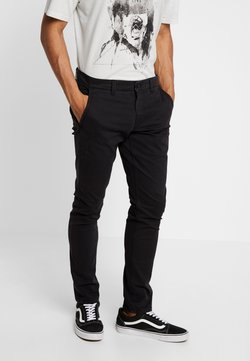 Only & Sons - ONSTARP WASHED - Chinosy - black