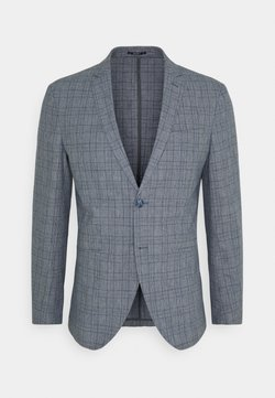 Jack & Jones PREMIUM - JPRRAY CHECK - Anzugsakko - grey melange