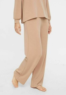 Pieces - Jogginghose - warm taupe