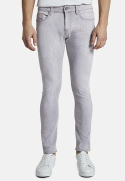 TOM TAILOR - TROY - Jeans Slim Fit - light stone grey denim