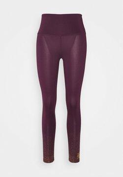 HIIT - FOIL FADE PRINT LEGGING - Tights - purple