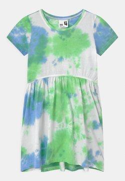 Cotton On - FREYA SHORT SLEEVE - Jerseykleid - dusk blue/spearmint
