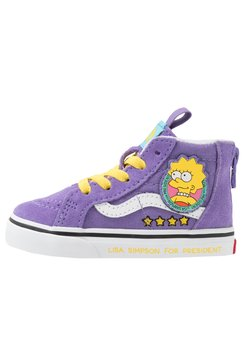 Vans - THE SIMPSONS SK8 ZIP - Sneakers hoog - purple