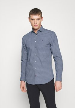 Tommy Hilfiger Tailored - PRINT SLIM FIT - Overhemd - blue