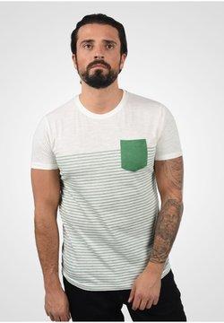 Solid - HAL STRIPE - T-Shirt print - bottle green