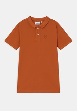 KnowledgeCotton Apparel - BASIL BASIC - Poloshirt - orange