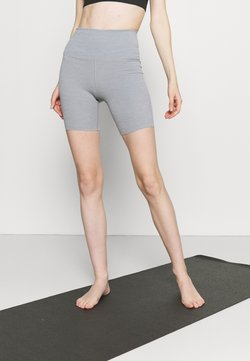 Nike Performance - YOGA LUXE SHORT - Tights - particle grey