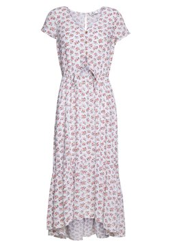 Hollister Co. - PRETTY MIDI DRESS - Sukienka koszulowa - white