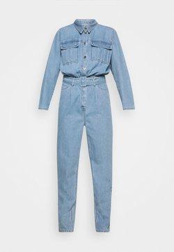 Ivy Copenhagen - ANGIE TRACKSUIT WASH BRIGHT SOHO - Combinaison - denim blue