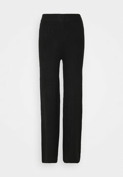 Noisy May - NMSALLY LOOSE PANT - Stoffhose - black