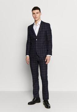 Limehaus - BOLD CHECK SUIT - Suit - plum