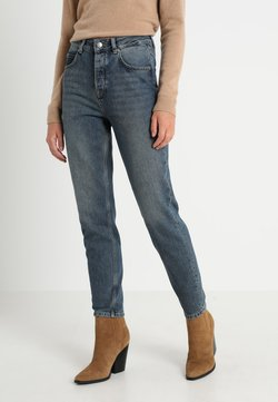 Selected Femme - MOM MID - Jeans Relaxed Fit - medium blue denim
