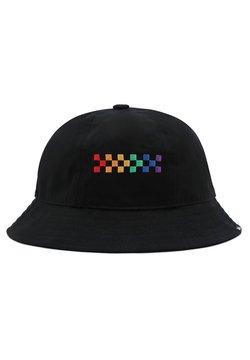 Vans - WM PRIDE BUCKET HAT - Hattu - black
