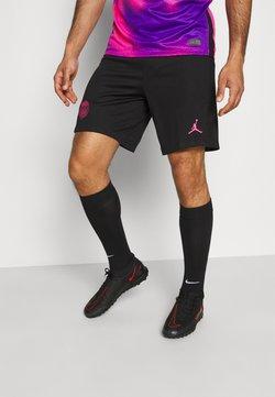 Nike Performance - PARIS ST GERMAIN STADIUM SHORT - Short de sport - black/hyper pink