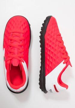Nike Performance - TIEMPO JR LEGEND 8 CLUB TF UNISEX - Fotbollsskor universaldobbar - laser crimson/black/white