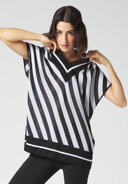 Manila Grace - T-Shirt print - bianco/nero