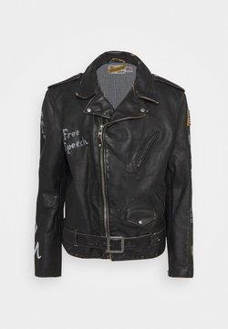 Schott Made in USA - PER - Leren jas - black