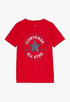 tee shirt femme converse rouge