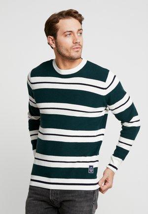 Grønn Stripete gensere til dame og herre | Zalando.no