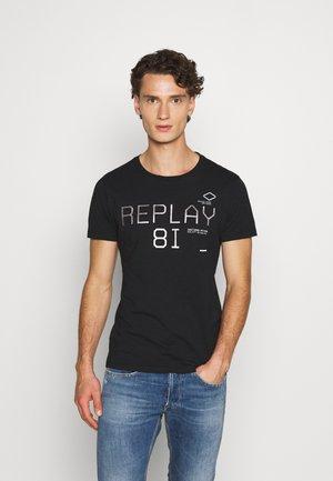 Replay T-Shirt - T-shirts & topper BLACKBOARD - Dameklær Spesialtilbud