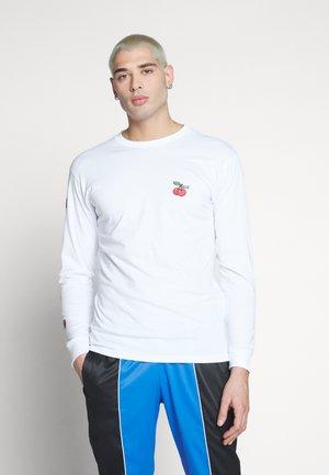 VANS VANS CLASSIC - T-skjorter WHITE/BLACK - Herreklær Spesialtilbud