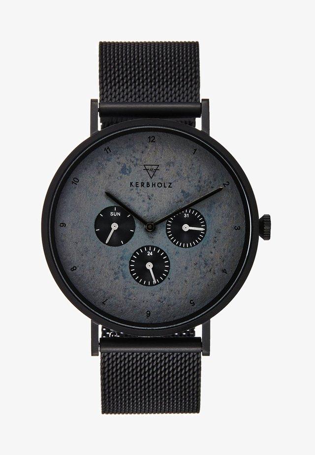 CASPAR - Cronografo - black/slate
