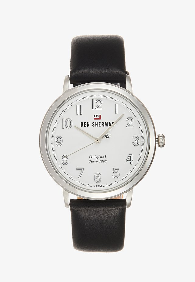 THE DYLAN CASUAL - Horloge - black/silver-coloured